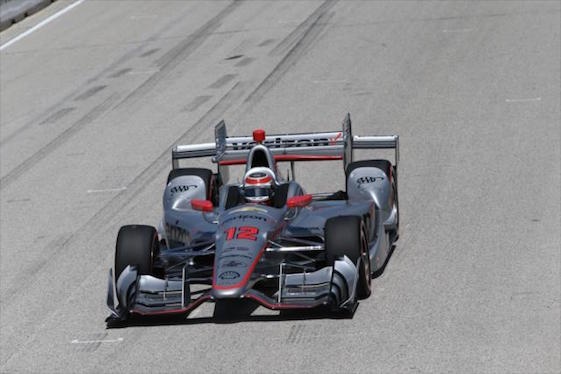 Will Power of Team Penske will start the IndyCar Series' season finale second in points to teammate Simon Pagenaud.