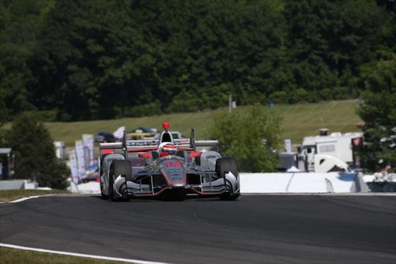 Will Power conquered Road America on Sunday to get his second consecutive IndyCar Series victory. (Photos courtesy of INDYCAR)