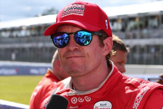 Scott Dixon will start the race in Toronto from the pole position.