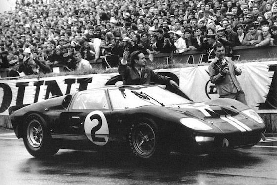 Le Mans won by Ford.