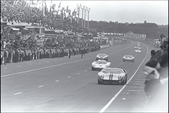 The Ford GT40s ruled Le Mans in the mid-1960s. They brought down almighty Ferrari.