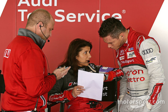 Audi race engineer Leena Gade will be making her final appearance with the team this weekend in the Le Mans 24 Hour race.