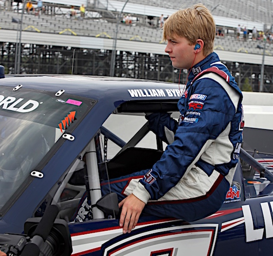 William Byron keeps on trucking and winning. (RacinToday/HHP photo by Alan Marler)