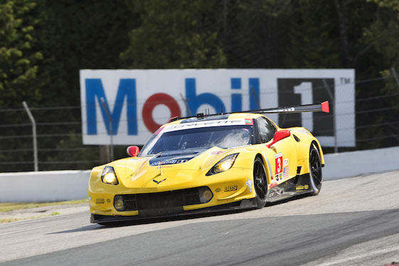 Corvette Racing is back in P1 after qualifying at Mosport on Saturday.