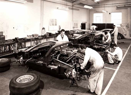 At Le Mans in 1964, Ford planned to run three cars for the first time—the two cars tested there in April and a new one completed just in time for the race. (Mike Teske Archives/Ford Motor Company)