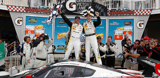The Action Express Corvette DP was the overall winner at Watkins Glen on Sunday.