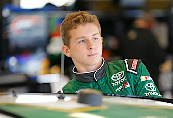 Matt Tifft will spend all of next season behind the wheel of a Joe Gibbs Racing Xfinity Series car. (RacinToday/HHP photo by Gregg Ellman)
