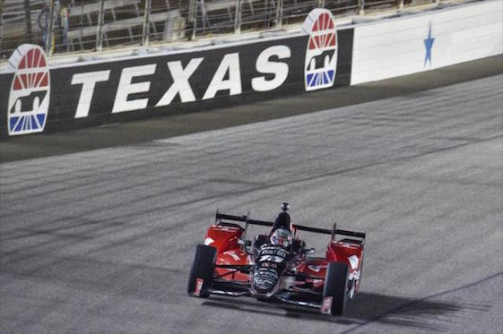 Graham Rahal emerged as the winner of Saturday night's IndyCar Series race at Texas Motor Speedway.