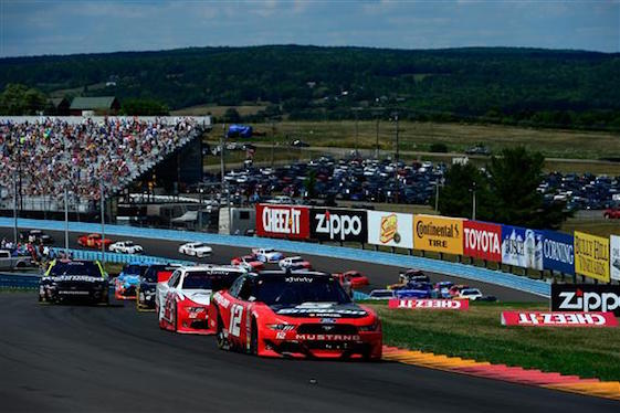 Joey Logano had a dominating day at Watkins Glen on Saturday as he won the Xfinity Series Race. (Photo courtesy of NASCAR)