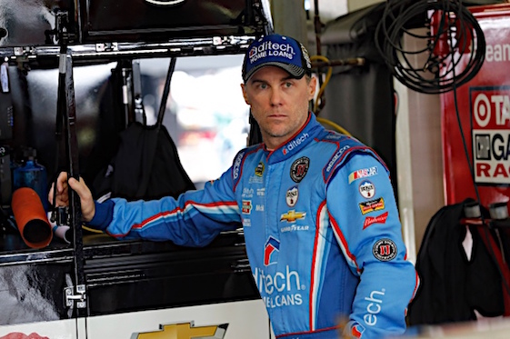 Kevin Harvick will advance to the round of 12 in the Sprint Cup's Chase playoffs after winning in New Hampshire on Sunday. (RacinToday/HHP photo by Andrew Coppley)
