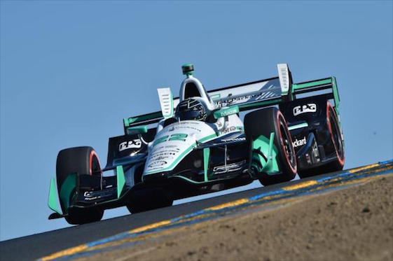 Sunday's race at Sonoma Raceway is a biggie for Frenchman Simon Pagenaud.