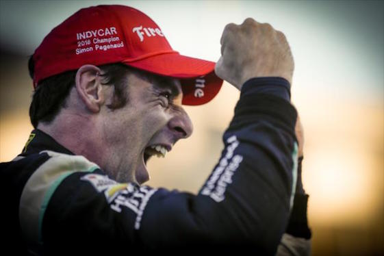 Simon Pagenaud drove his way to the 2016 IndyCar Series championship on Sunday at Sonoma Raceway. (Photo courtesy of INDYCAR)