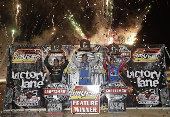 Dirt track champs were crowned Saturday night in North Carolina.