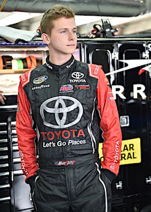 After undergoing brain surgery, Matt Tifft didn't even know if he would drive a street car again. Now he is back in a race car. (RacinToday/HHP photo by Rusty Jarrett )