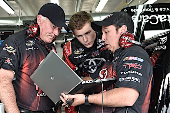 Matt Tifft has had to fight and beat some things that seldom confront other race car drivers. (RacinToday/HHP file photo by Rusty Jarrett )