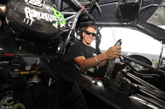 Alex Laughlin's high school football coach in Texas made him decide between playing and driving. The decision was easy, Laughlin says. (Photos courtesy of NHRA National Dragster)