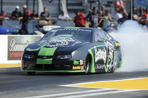 Alex Laughlin's Pro Stock car.