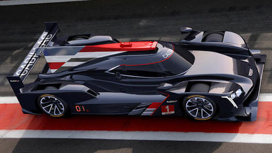 Cadillac Prototypes will compete in the IMSA WeatherTech series in 2017.