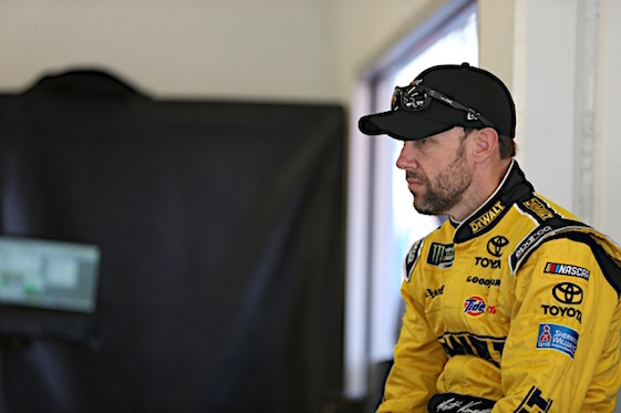 Matt Kenseth doesn't expect to return to Joe Gibbs Racing in 2018