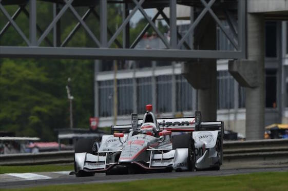 Newgarden wins for Penske at Barber Motorsports Park