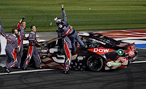 Dillon takes NASCAR's longest race