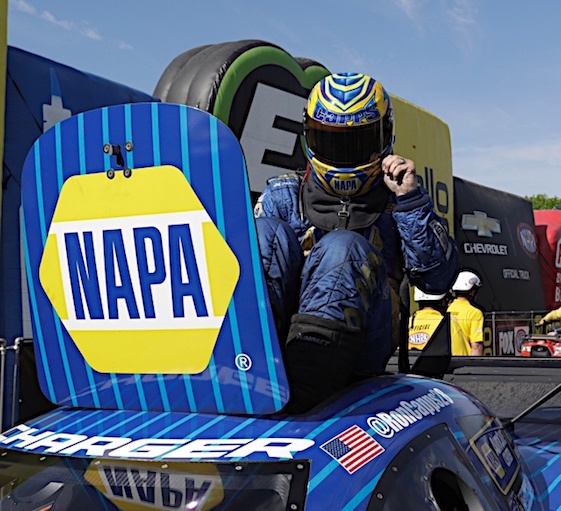 Brittany Force makes Pomona history with fastest Top Fuel pass