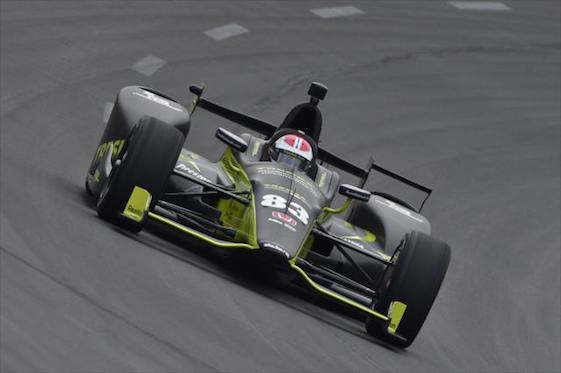 Kimball sets texas track record to win first career pole for Texas motor vehicle record