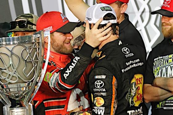 Truex Jr. wins NASCAR Championship