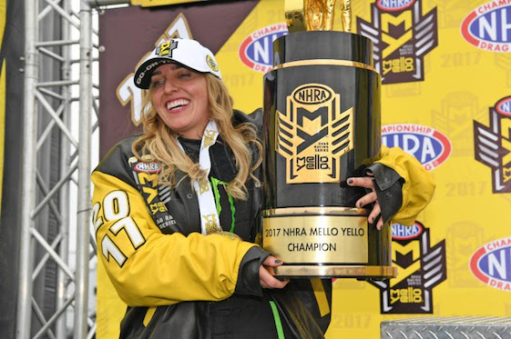 Brittany Force has wall-banging crash in NHRA opener