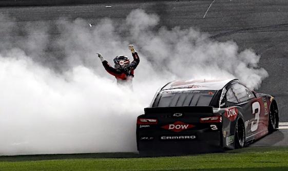 Dillon victorious at Daytona