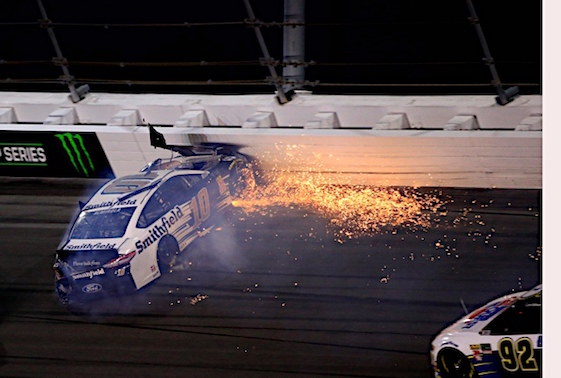 Hamlin, Wallace get heated after Daytona finish