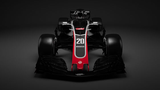 Haas Unveils All-New VF-18 Formula One Car