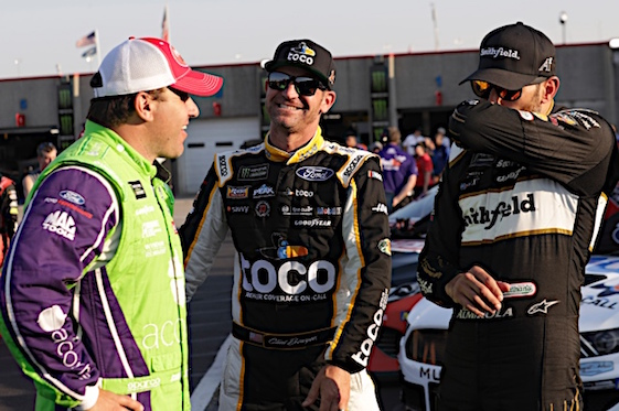 Watch Clint Bowyer, Ryan Newman fight after NASCAR All-Star Race